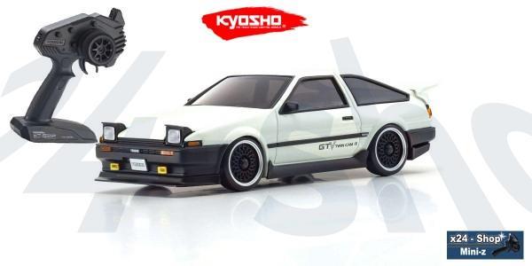 Kyosho | Mini-Z AWD | Toyota Sprinter Trueno GTV AE86 white (MA-020/KT531P) | 32623GTV