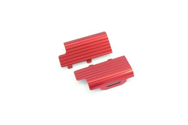 Kühlkörper für Akku alu, rot Mini-z Buggy K.MBW014R