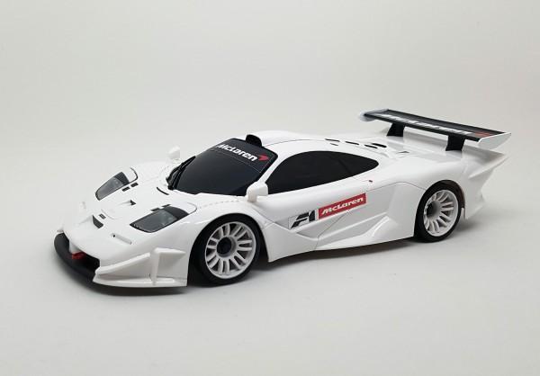 Kyosho Mini-z / Ersatz Karosserie / Autoscale / McLaren F1 GTR white / K.MZP237Wx-24