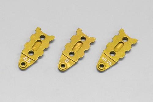 Sus.Plate Guide Alu Gold Mini-z MR-03 R246-1321G