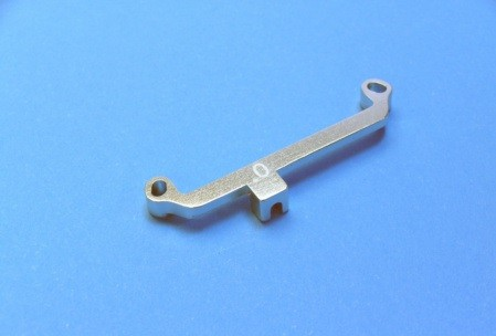 Front Steering Linkage 0 Degree-Silber für Mini-z AWD tc10903s