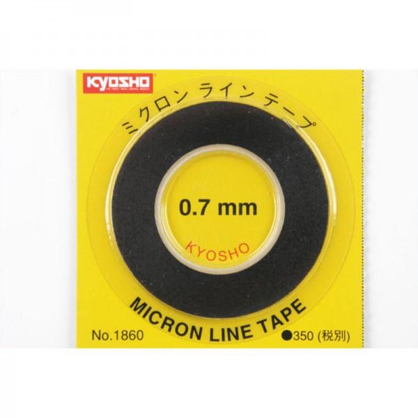 Zierstreifen 0,7mm x8.0m Mini-z K.1860
