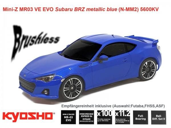 kyosho |Mini-Z MR03 EVO Subaru BRZ metallic blue| K.32791