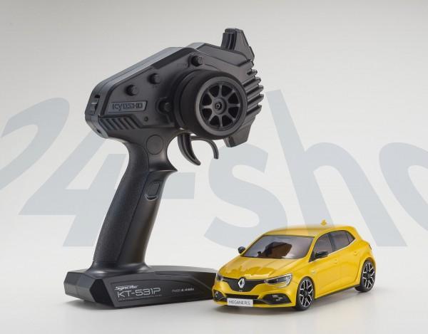 Mini-Z FWD RENAULT MEGANE RS SIRIUS YELLOW (MA-03F/KT531P)