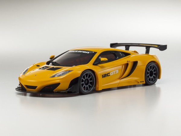 Ersatz Karosserie Mini-z MR-03 McLaren 12C GT3, orange
