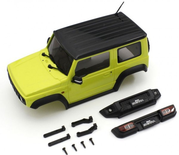 MINI-Z Crawler   K.MXB03Y   Kyosho   Karossserie Suzuki Jimny Sierra Yellow Mini-Z 4X4 MX01