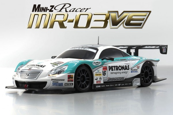 "Mini-Z MR-03VE PETRONAS TOM""S SC430 Brushless 32763PT"