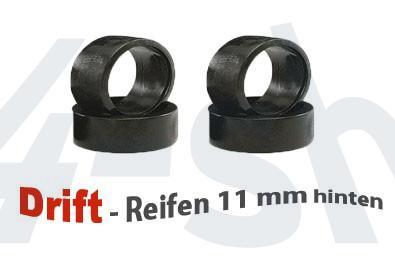 Reifen 1:24 Drift 11mm (4) Mini-z MDT-002