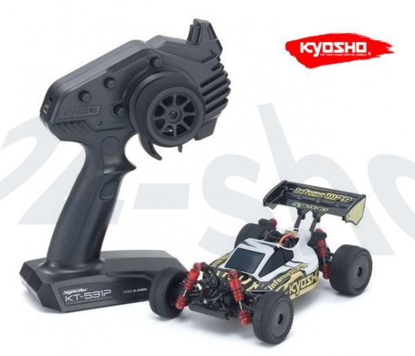 Mini-Z Buggy / INFERNO MP9 TKI3 WEISS/SCHWARZ - READYSET / Kyosho| K.32091WBK
