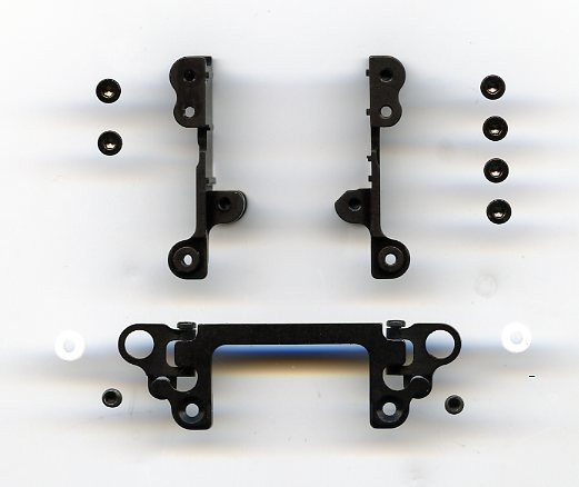 DOUBLE WISH BONE SUSPENSION SYSTEM FOR MRX SERIES black XP-MRX-DSA-BK