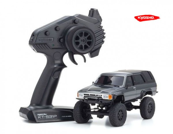 kyosho |Mini-Z Crawler | MX-01 Toyota 4Runner Grey Metallic | K.32522GM