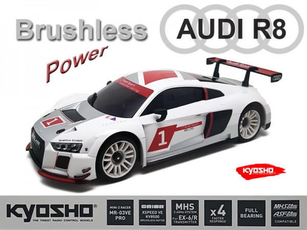 Mini-z MR-03VE PRO / Audi R8 2015  / Kyosho Mini-z Brushless / K.VEPRO234AS