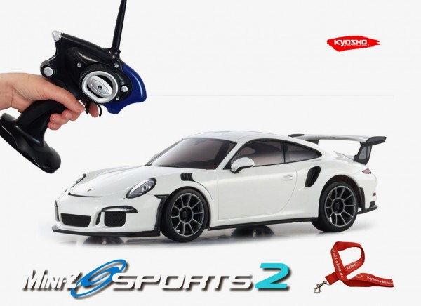 Mini-z / Kyosho MR-03 Sports 2 / PORSCHE 911 GT3 RS weiß / K.32231W / RWD