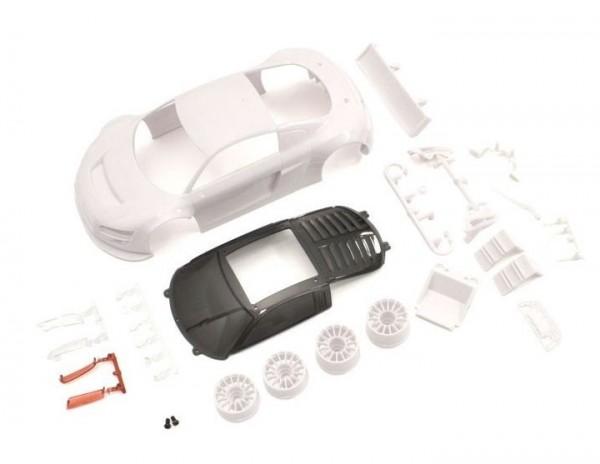 Karosserie Mini-z 1:24 Audi R8 LMS Night-R | K.MZN195 | Kyosho