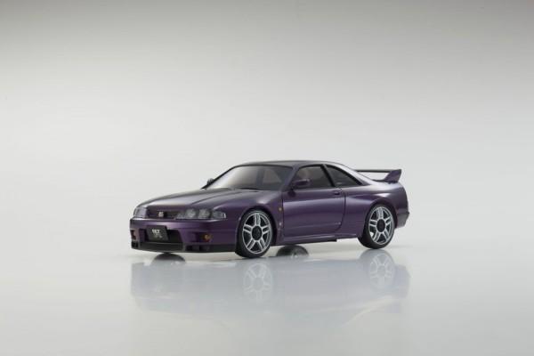 K.MZP438PU AUTOSCALE NISSAN SKYLINE GTR R33 V-SPEC PURPLE MA-020