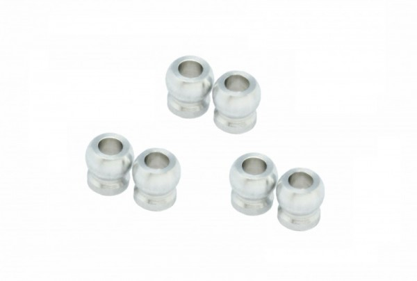 BALL WITH FLANGE 2.0MM HOLE (6 PCS)Mini-z XP-AWD-812I-6