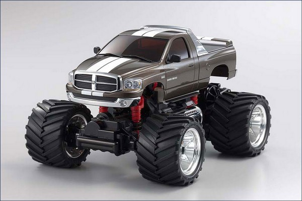 Mini-z Monster MM-01 Dodge Ram 1500 grau 30091GM-x24