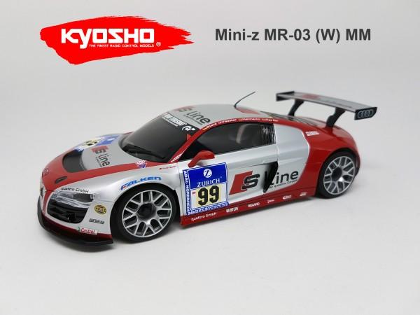 Karosserie Mini-z MR03 Audi R8 LMS S-LINE NBR 2010