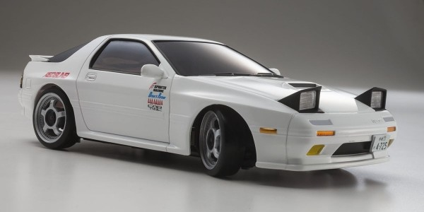 Karosserie Mini-z MR03 MAZDA RX7 Savanna FD3S Initial-D Weiss
