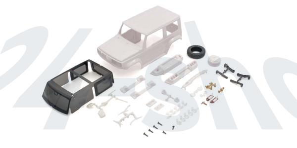 Karossserie Suzuki Jimny Sierra Mini-Z 4X4 MX01 (Ohne Lackierung)