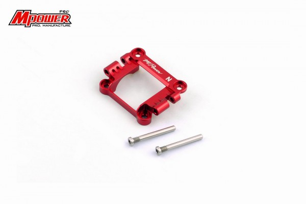 Front Upper Cover narrow red mpower MAP003NR