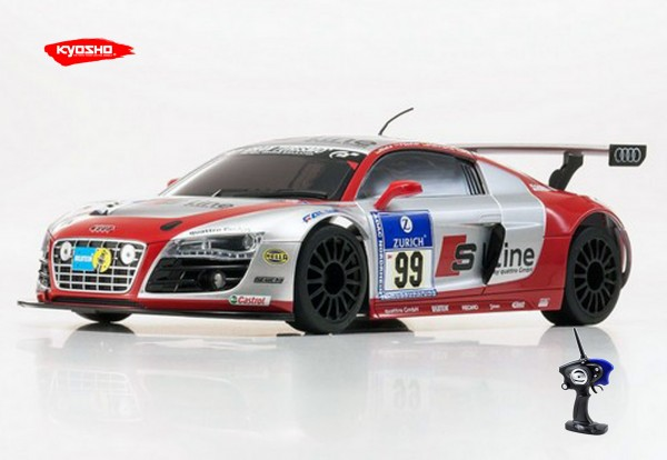 Mini-Z MR-03 Sports 2 AUDI R8 LMS S-LINE NBR'2010 #99 (W-MM) / K:32204GSL / RWD
