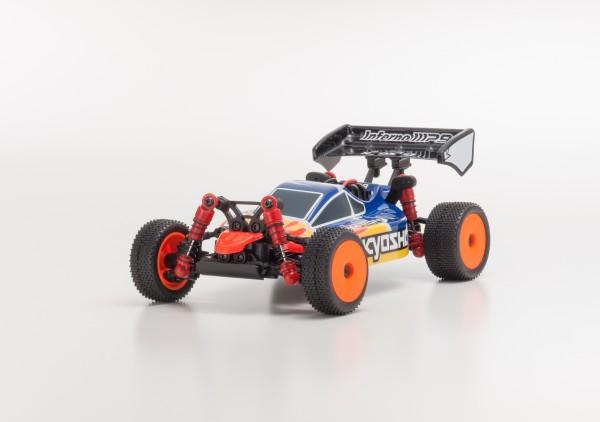 Karosserie Mini-z Buggy Inferno MP9 TKI3 blau/rot mbb03br