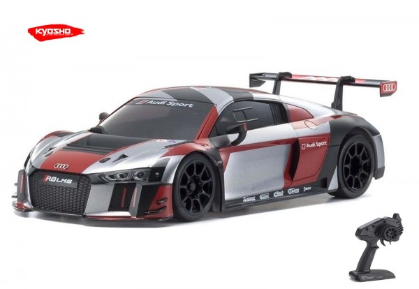 Kyosho / Mini-z RWD / Audi R8 GRAY-RED/ KT531P / K.32323RGB