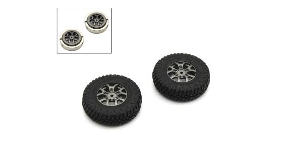 Verklebte Reifen (2) Jimny Mini-Z 4X4 MX01 - Heavy Weight