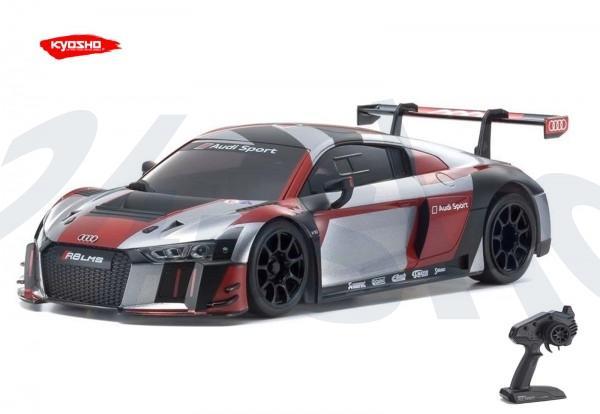 Kyosho / Mini-z RWD / Audi R8 GRAY-RED/ KT531P / K.32323RGB