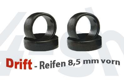 Reifen 1:24 Drift 8.5mm (4) Mini-z MDT-001