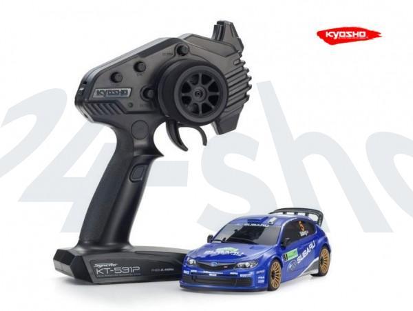 Miniz AWD MA020 Sports | Allrad Kyosho | K.32614WR | SUBARU IMPREZA WRC 2008 Nr.5| KT531P
