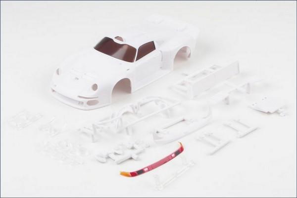 Mini-z Karosserie 1:24 Porsche 911 GT1 LM, o. L. mzn103