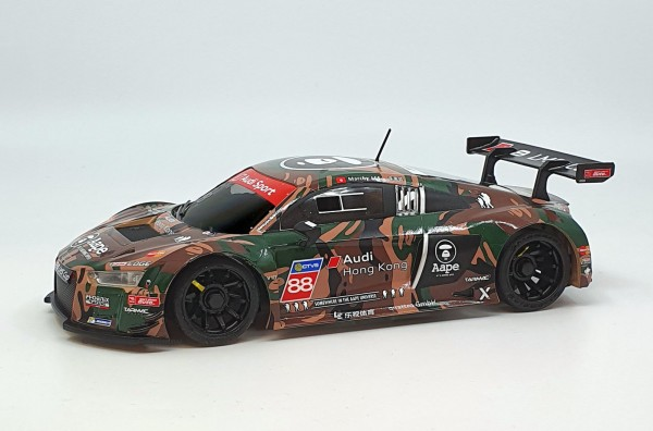 Mini-z Karosserie |GL-Racing | GBL009-R8LMS | R8 LMS Green Camouflage