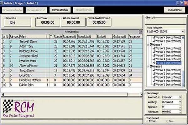 RCM Advanced Software Lapcounter  RS168