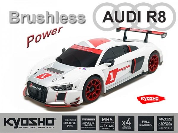 Mini-z MR-03VE PRO / Audi R8 2015 / Kyosho Mini-z Brushless / K.VEPRO234RW