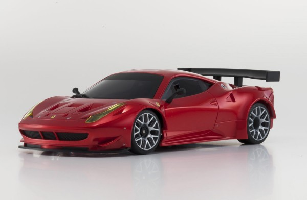 Ersatz Karosserie Mini-z MR-03 Ferrari 458GT2 metallic-rot