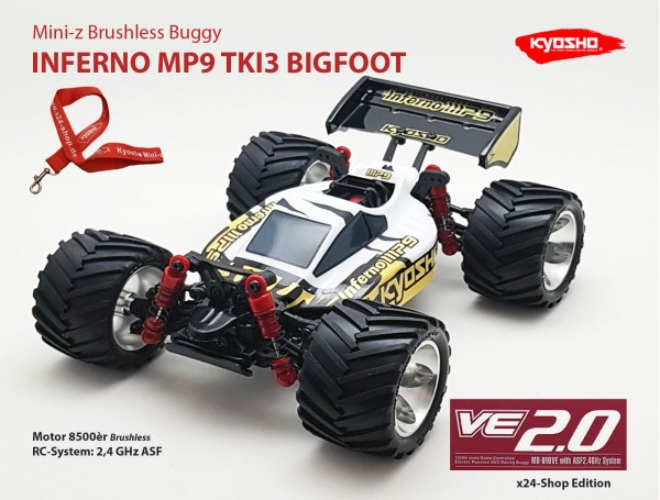 Mini-z Brushless Buggy#VE / Kyosho MB-010VE / K.32291 / Brushless / INFERNO MP9 TKI3 BIGFOOT