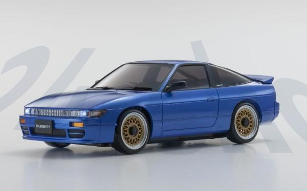 Karosserie Mini-z Nissan Sileighty blau MA-020, K.MZP434BL