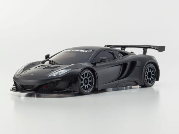 Karosserie Mini-z MR-03 McLaren 12C GT3, schwarz-matt  mzp226BK