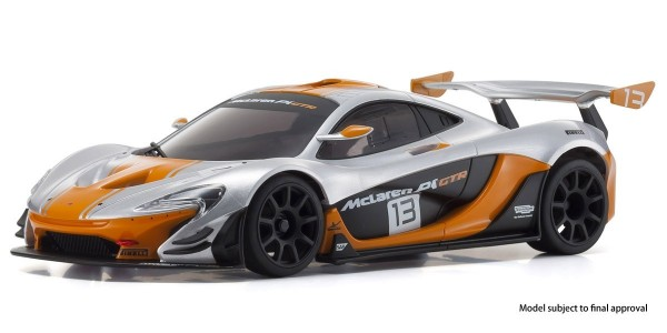 Karosserie Mini-z MR03RWD McLaren P1 GTR silver/orange