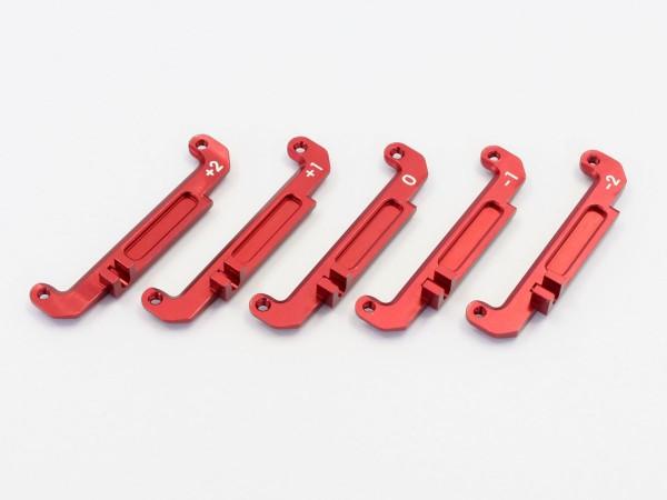 Lenkungsplatte, rot Mini-z Buggy mbw027r