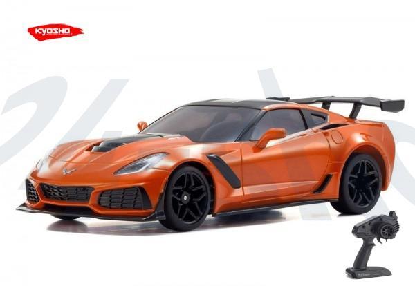 Kyosho / Mini-z RWD / Chevrolet Corvette ZR1 Sebring Orange | KT531P / K.32334OR | MR03